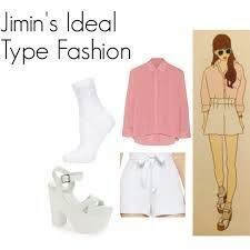 BTS JIMIN ideal type fashion