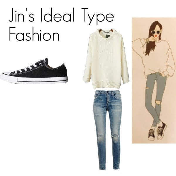 Jin  김석진 IDAEL TYPE FASHION
