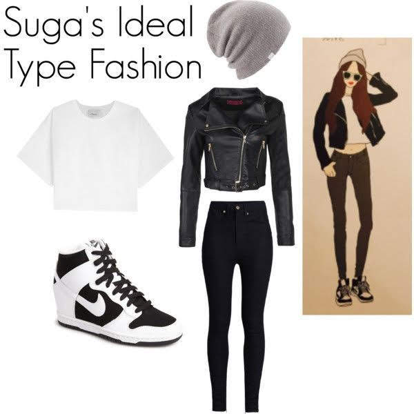 SUGA  민윤기 IDAEL TYPEFASHION